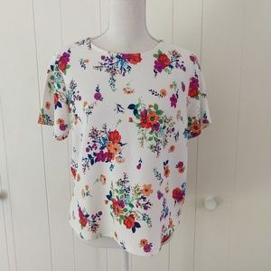 One Clothing floral top